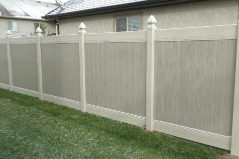 vinyl fence ut