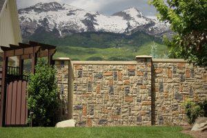 ashler concrete fence