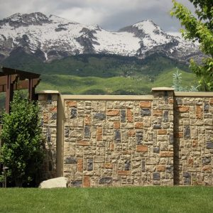 ashler concrete fence