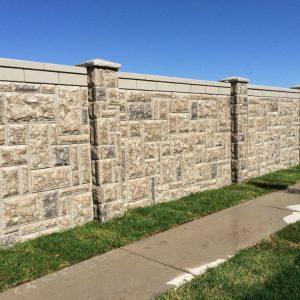 castlestone concrete fence 3