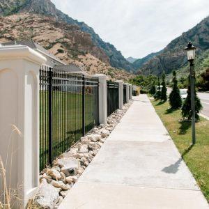 renaissance concrete fence